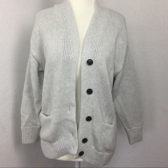 43b4307122 GAP Sweaters - GAP Chunky Knit Button Up Cardigan Sweater
